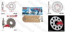 Honda VFR750 (RC24) 86-89 DID X Ring Pro Gold Chain Sprocket Kit 16/45t 530/110