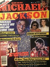 The One a Only Michael Jackson Rock Fever Magazine 1984 Very Good