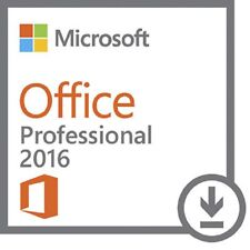 Microsoft Office Professional Plus 2016 f. 1 PC ✔ MS Office ✔ PRO VOLLVERSION