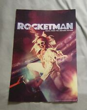 Elton John - Rocketman 11 x 17 movie poster (red) BRAND NEW |||| rocket man