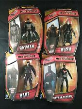 Bane Hush Batman Beyond Batman DC Mulitverse Figures Lot of 4 Arkham City NIB