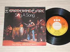 "EARTH, WIND & FIRE - SING A SONG - 45 GIRI 7"" GERMANY"