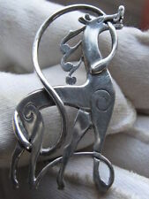 Without Stone Sterling Silver Fine Brooches & Pins