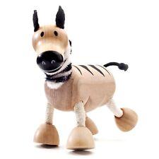 Zebra-Anamalz (de Madera Animales Juguetes)