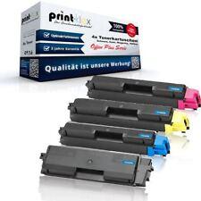 4x Austausch XL Tonerkartuschen für Kyocera FSC5150DN Drucker Patrone