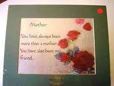 """ Mother"" dimensional foil print"