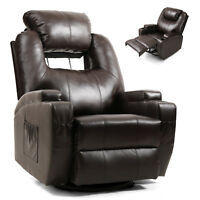 Electric Massage Chair Zero Gravity Full Body Relax Recliner Sofa W/Time Control
