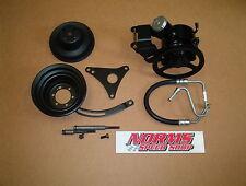 Mopar 383 440 426 Hemi Power Steering Pump GTX Non AC Air Brackets Pulleys Cuda