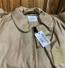 USAF TAN NOMEX FIRE RESISTANT COLD WEATHER FLYERS JACKET CWU-45/P -XX LARGE