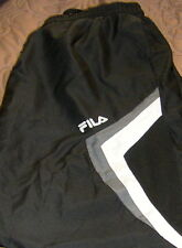 NEW WOMENS Fila LOOSE SPORT Warm Up Pants BLACK Sz S  BLOW OUT =REDUCED