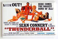 Thunderball FRIDGE MAGNET (2 x 3 inches) quad movie poster james bond