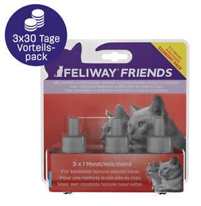 FELIWAY® FRIENDS 3x30 Tage Vorteilspack- Pheromone Lösung bei Stress mit Katzen