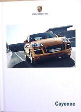 Porsche Cayenne, Hardback, Sales  Brochure