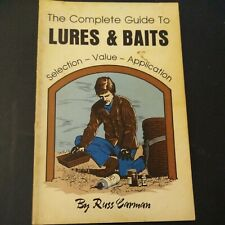 """Book """"The Complete Guide To Lures & Baits"""" By Russ Carman Traps Trapping"""