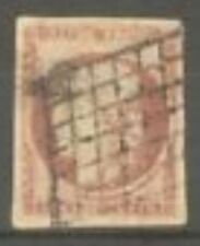 "FRANCE STAMP TIMBRE N° 6 "" CERES 1F CARMIN FONCE "" OBLITERE A VOIR A803"