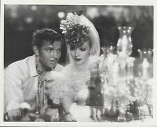 """Marlene Dietrich / Bruce Cabot (Pressefoto '50er) in """"Die 'Abenteurerin"""""""