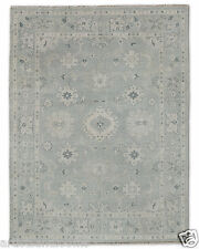 Restoration Hardware Ayara Slate Hand Knotted Persian Rug 10x14 Wool $7495 MSRP