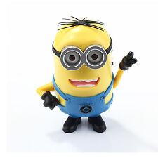 Cute Robbot Minions DESPICABLE ME Mini SPeaker Support MP3/TF Card/FM Radio