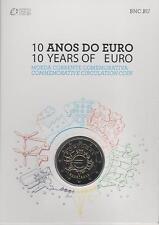 """Pièce Commémorative du Portugal 2012 """"les dix ans de l'Euro, BU."""