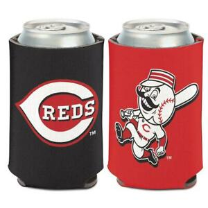 Cincinnati Reds 12oz Two Sided Can Cooler [NEW] MLB Coozie Koozie Beer Drink