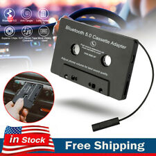 Wireless Bluetooth-5.0 Car Audio Stereo Cassette Tape Adapter Mp3 Hands-Free Aux
