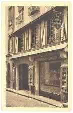 """CPA 35 - SAINT-MALO - Rue de Dinan - """"Ti-Bihan"""" la petite maison"""