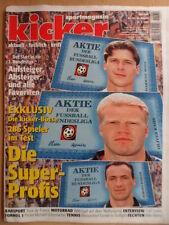 KICKER 60 - 21.7. 1997 Tour de France Motorrad-WM Carl Levis M.Schumacher-Poster