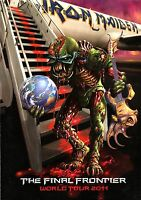 IRON MAIDEN 2011 THE FINAL FRONTIER WORLD TOUR CONCERT POSTER PROGRAM BOOKLET