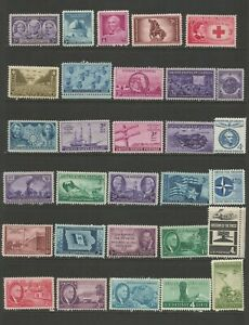 United States A Nice Selection of Mounted Mint Stamps (Selection 1)