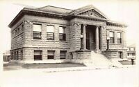 Real Photo Postcard Carnegie Library in Baker, Oregon~124727