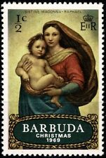 BARBUDA 1969  painting by Raphael YT n° 38  Neuf ✮✮ Luxe / MNH