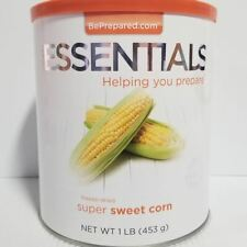 Emergency Essentials Freeze Dried Food Supersweet Corn  #10 Can