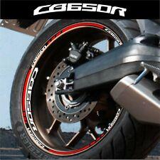 LISERETS JANTES MOTO CB 650 R CB650R STICKERS kit pour 2 jantes 40 Colors