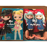 Me and My Blythe 1&2 Junie Moon Graphic 2010 Japanese Blythe Fan Books Used / 8