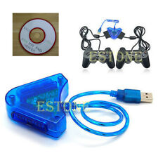 PS2 PSII DDR Playstation to USB PC Adapter Converter N