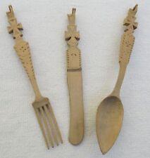 Prisoners of War Work Silverware Carved From Landser Russ Kriegsgefangenschaft