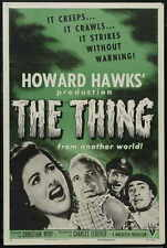 THE THING FROM ANOTHER WORLD Movie POSTER 11x17 C James Arness Kenneth Tobey