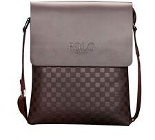 Men Messenger Bags Leather Shoulder Bag Classic Business Purse Handbag Gift