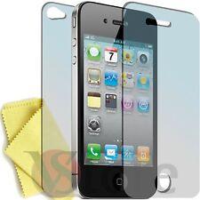6 Pellicola Per iPhone 4S 4 Proteggi Salva Schermo 3 Fronte + 3 Retro Display