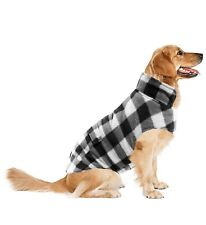 ASENKU Dog Winter Coat XXXL White/Black