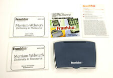 Franklin Merriam Webster Dictionary Thesaurus Mwd-1450 w/ Spanish Master Bookman