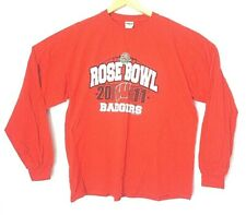 Wisconsin Badgers Football 2011 Rose Bowl Gildan Mens Xl Red Long Sleeve Shirt