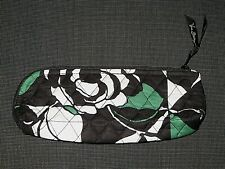 NEW VERA BRADLEY IMPERIAL ROSE QUILTED COTTON ZIPPER COSMETIC BAG