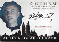 Gotham Season 2 Auto Autograph Card Brian McManamon Basil SMC1