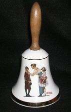 Norman Rockwell - Fine China - School Days Bell # 1224A