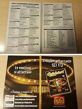 COPERTINA AGGIORNAMENTI FIGURINE CALCIATORI PANINI 2010/11 ALBUM COVER