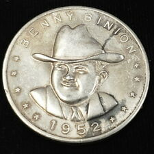 1952 Benny Binion's Horseshoe Sterling Silver Good Luck Pardner Token 4BB5206