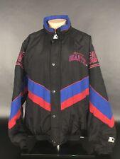 Vintage New York Giants Starter Jacket Size Large. Black