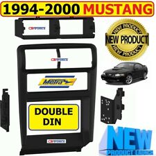 1994-2000 FORD MUSTANG CAR STEREO RADIO DOUBLE DIN INSTALLATION DASH KIT BEZEL