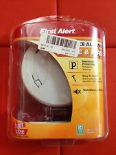 First Alert Less Nuisance Alarms for Smoke and Fire Half Size New In Box